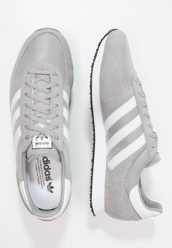 ADIDAS ORIGINALSZX RACER - Trainers - solid grey/white/core blacksizes 4, 9, 9.5, 11,11.5,12,13 £30 zalando