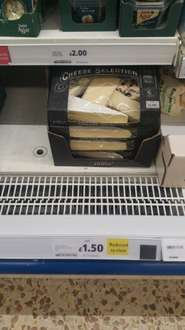 Tesco Finest 5 Cheese Selection now £1.50 at Tesco instore