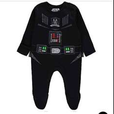 Star Wars darth Vader all in one with cape £1.50 @ Asda baby event