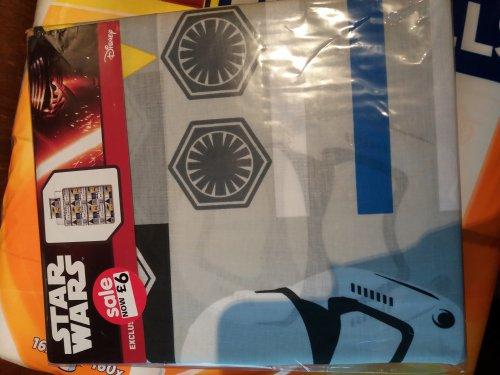 Star Wars single bed sets £6 @ Asda - Runcorn