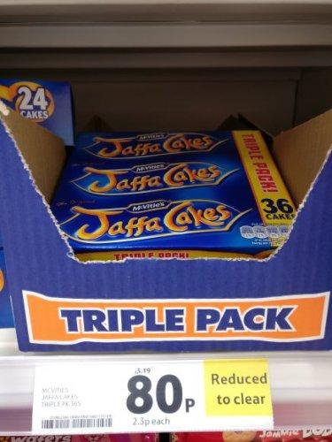 Jaffa Cakes - triple pack (x36) 80p instore @ Tesco - Fareham