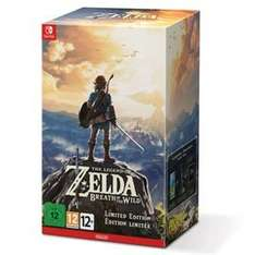 The Legend of Zelda: Breath of the Wild Limited Edition (Switch) £79.99/£77.99 w/Prime @ Amazon