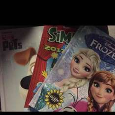 various 2017 Annuals at Tesco for 50p. (Frozen/Minions/Life of Pets/The Dandy/Simpsons)