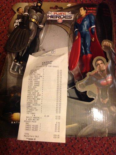 Batman Vs Superman Flying Heroes scanning @ £5.50 in store Tesco - Walkden