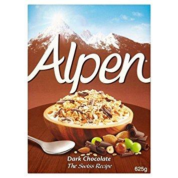Alpen Dark Chocolate muesli 625g(box) only 1.00 @ Poundstretcher