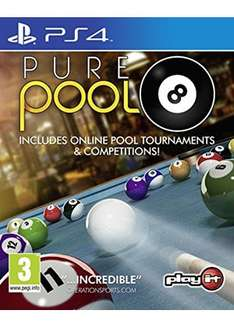 Pure Pool / Pure Chess (PS4) £9.09 each Delivered @ Base
