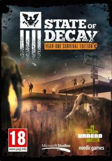 State of Decay - Year One Survival Edition- PC £7.54 Prime / £9.53 Non-Prime (Lightning Deal) @ Amazon