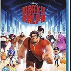 Wreck-it Ralph Blu Ray @ Amazon (Lightning Deal) - £6.12