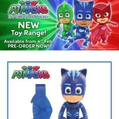 pj masks toys pre order - available from 4 Feb - from £7.99 @ Toys R Us