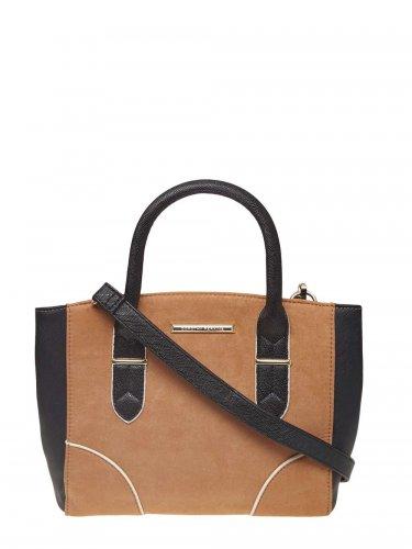 Dorothy Perkins Tan Mix Mini Curve Tote Bag - £10.80 / £9.72 (Unidays) delivered + 10.5% Cashback @ Zalando