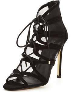 Saffron Mesh Strappy Tie Sandal (was £30) Now £9.00 at Very