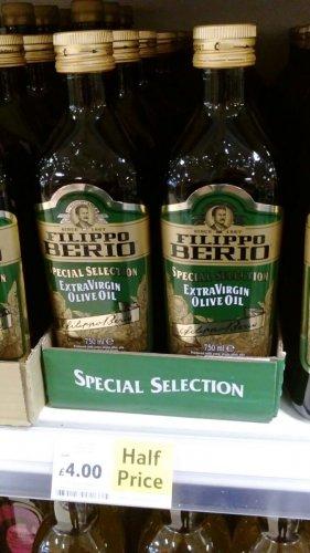 Filippo Berio Extra Virgin Olive Oil 750 ml £4.00 TESCO