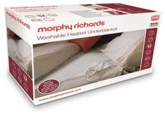 Double Washable Heated Underblanket £16.99 with code @ Morphy Richards