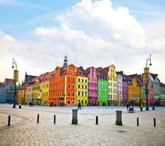 Long weekend in Wroclaw, Poland for £48 each including flights and hotel @ accorhotels