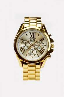 Mens Chronograph Watch £5 Yes £5 / £8.95 delivered @ everything5pounds.com