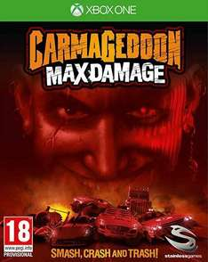 Carmaggedon Max Damage Xbox One and PS4 £9.99 Amazon prime exclusive