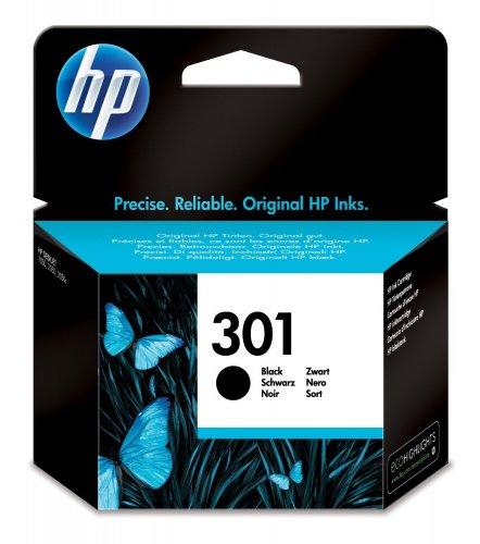 hp 301 black ink catridge £6.54 prime / £10.53 non prime  Amazon Lightning deal