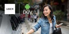 Get 50% (up to £5) off Uber rides when paying with Android Pay
