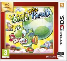Yoshis New Island for the 3DS (in gorgeous selects packaging) £11.85 free p+p @ Simply Games
