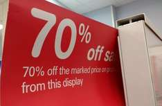 Boots 70% Sale Friday 20th january