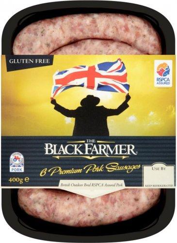 The Black Farmer Premium Pork Sausages (6 per pack - 400g) was £2.97 now £2.00 @ Morrisons
