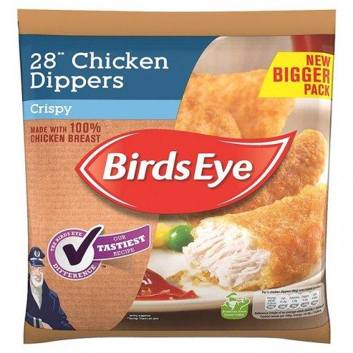 Birds Eye Crispy Chicken (50%) Dippers (28 per pack - 513g) was £3.41 now £1.50 @ Morrisons