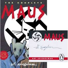 Maus The Complete Maus (Signed Bookplate Edition) Signed by the Artist/Author Art Speigelman £16.99 @ Forbidden Planet