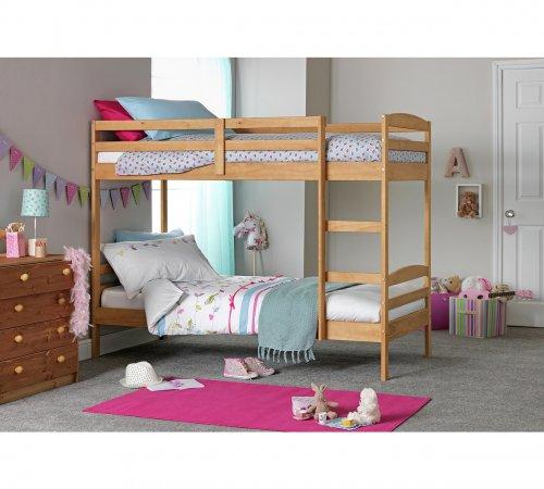 Josie Single Bunk Bed Frame Natural - £102.94 Argos