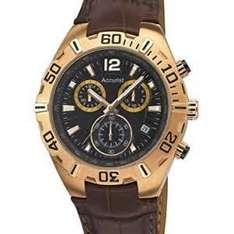 EXPIRED Accurist Men's Quartz Watch with Brown Dial Chronograph Display and Brown Leather Strap £23.69 free delivery @ Amazon gone up to £43.02