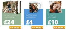 80% off sale at my-picture.co.uk giant canvas £24, photo mug £4 etc plus £4 delivery