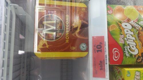 Sainsburys - 3 Pack Magnum Honeycomb - 10p instore