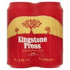 FREE 4 pack of Kingstone Press cider at Tesco 18/1/17 with CheckOutSmart