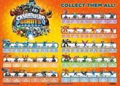 Official Skylanders: Giants Character Poster - A2 Size - 48 Characters £1.99 @ eBay / g2gltd