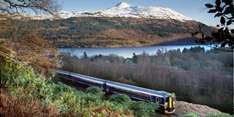 West Highland Line to Oban or Fort William from £10 return @ thetrainline.com