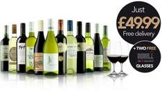 12 Bottles of Wine £49.99 Delivered + free glasses RUDE WINES No club