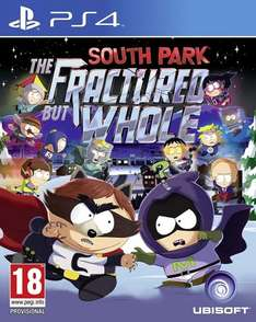 South Park: The Fractured But Whole PS4 £30.79 @ Ubisoft Store with 30% + 20% voucher code (£54.99 without codes)