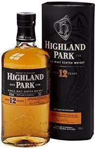 Highland Park 12 Year Old Orkney Malt Whisky 70cl £24.75 @ amazon.co.uk delivered