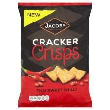 Jacobs CRACKer Crisps150g, all flavours 75p at Tesco. Seriously addictive.
