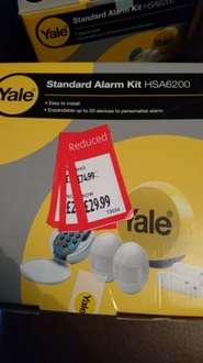 yale alarm - £29.99 instore @ ALDI (Boston)