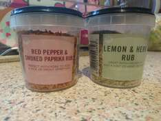 Morrisons red pepper & smoked paprika rub - 30p instore