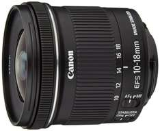 Canon EF-S 10-18 mm f/4.5-5.6 IS STM Lens £169.77 @ Amazon UK