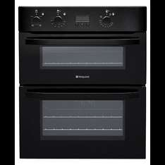 Hotpoint Eco Experience Built-under Double Oven UHB 83J K - Black - £176 @ Tesco Direct