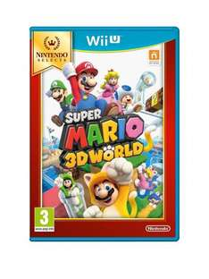 Wii U Super Mario 3D World Select - Wii U - £16.99 click and collect from very