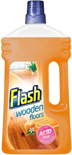 Flash Clean & Care Wooden Floors Mandarin & Cedar Wood Liquid 1litre was £2.50 now £1.25 @ Waitrose