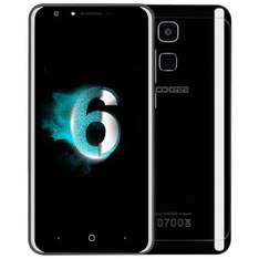 Doogee Y6 Piano Black 5.5 Inch Sharp HD Android 6.0 4G+ LTE Smartphone MT6750 64-Bit Octa Core 4GB RAM 64GB ROM 13.0MP Toch ID with Case Screen Protector - Black £125.17 @ Geekbuying
