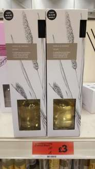 vanilla & oatmeal diffuser £3 @ sainsbury's Mansfield. was £10 now £3