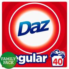 Daz washing powder - 40 wash ONLINE and INSTORE £4 @ Morrisons