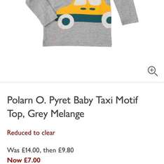 Polarn O. Pyret Boys Girls Items - John Lewis From £7 - £2 c&c