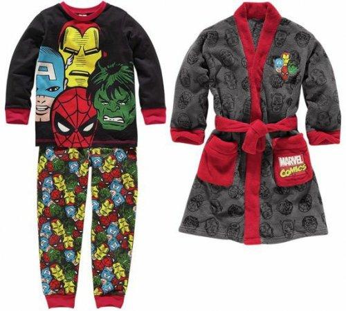 Marvel Avengers Robe and Pyjamas half price £12.49 @ Argos