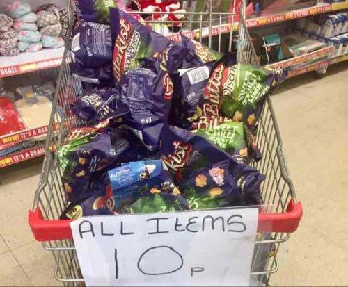 Big Bag of 85g Butterkist Popcorn now 10p Poundstrechers